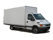 Iveco Daily with extra side door